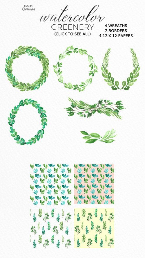 Wreath clipart rustic wedding. Watercolor leaf floral leaves