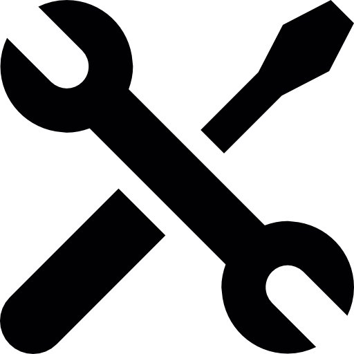 Wrench icon png. Screwdriver and crossed free