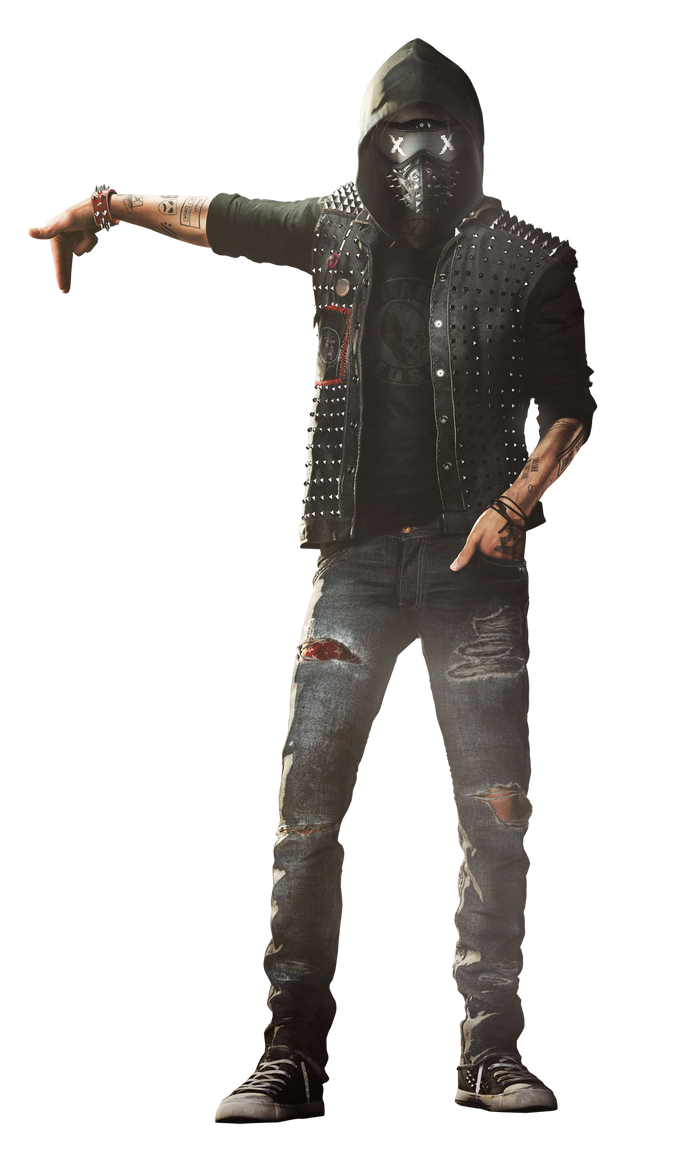 Wrench watch dogs 2 png. Render wallpaper by digital
