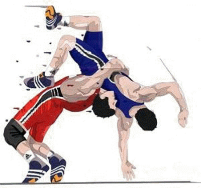 Wrestler clipart kusti. Uncategorized page clipartaz free
