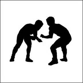 Wrestling clipart. Free yahoo image search