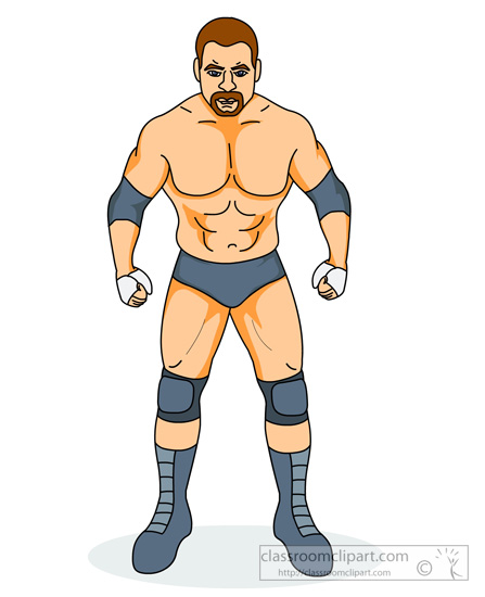 Wrestler clipart logo. Wrestling angry looking wwe