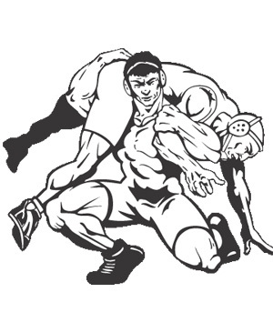 Wrestlers clipart wrestling coach. Cliparts