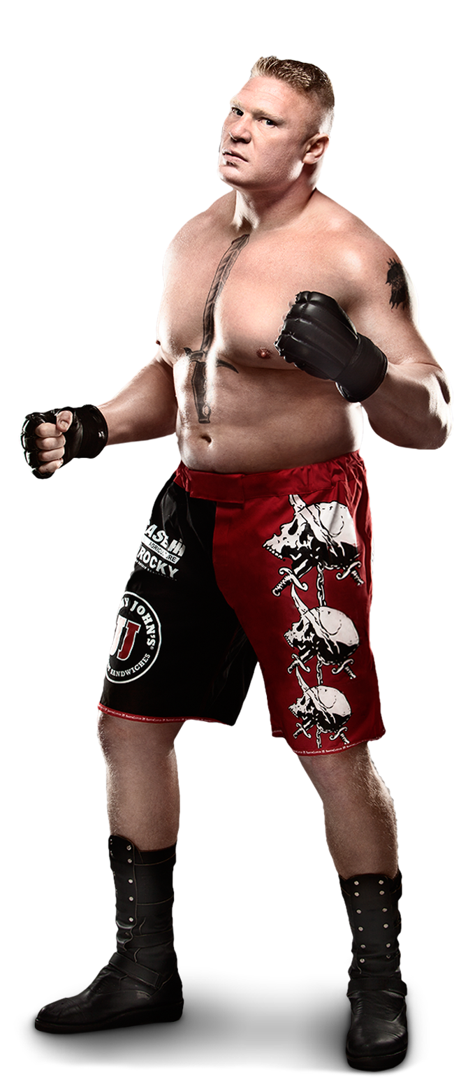 Wrestler drawing mma fighter. Brock lesnar brings ufc