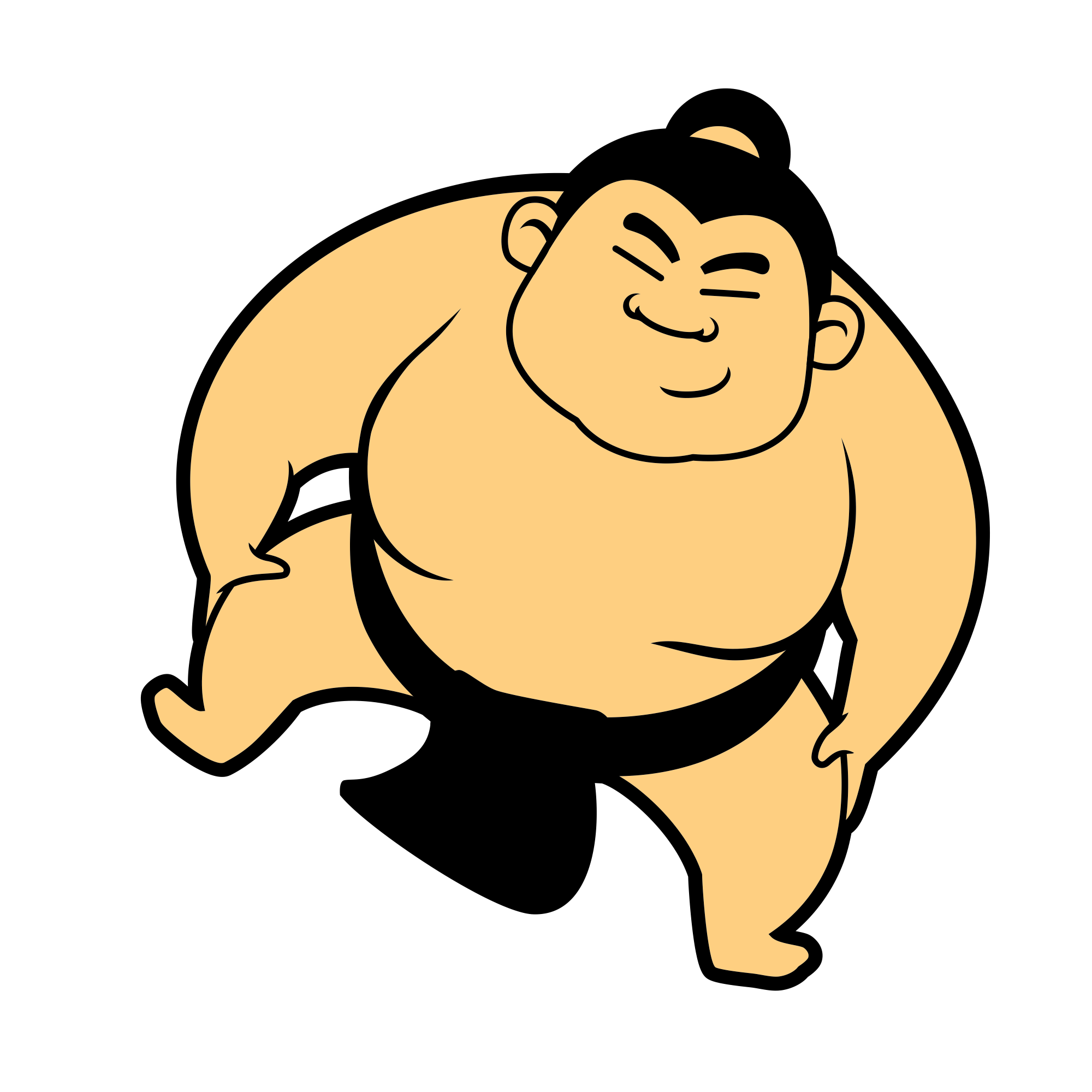 Wrestlers clipart transparent background. Sumo png stickpng