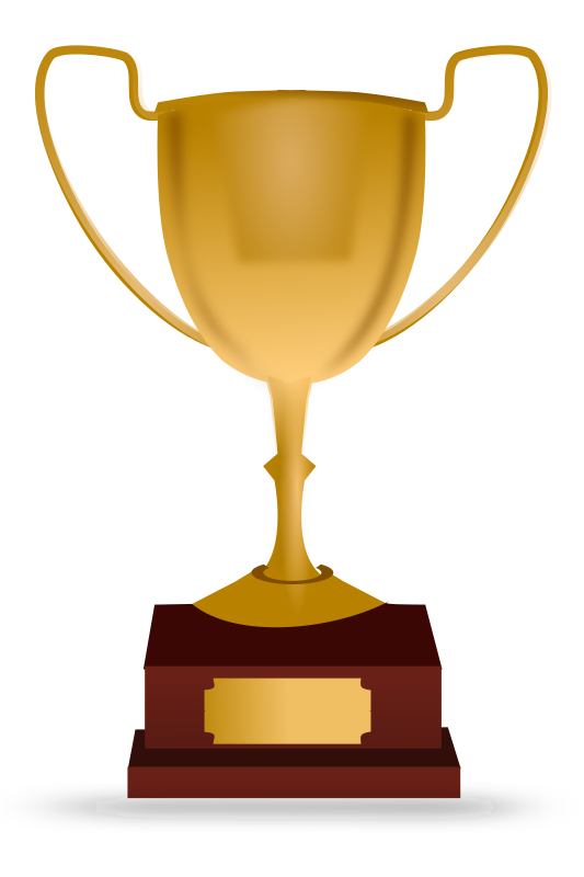 Wrestlers clipart trophy. Png transparent free images