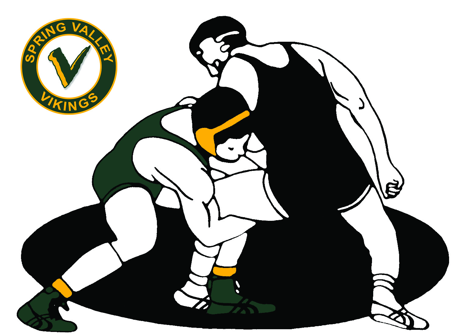 Wrestlers clipart wrestling coach. Viking update prospective there