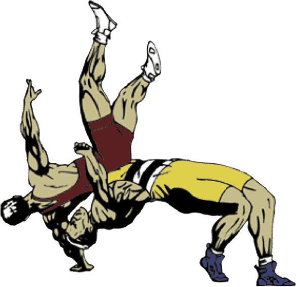 Wrestling clipart free download. Wrestlers vector clip transparent stock