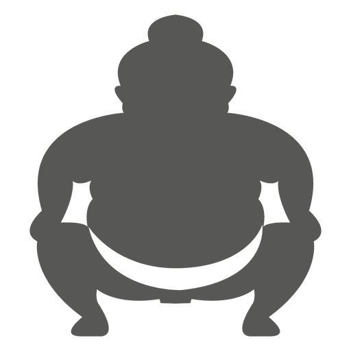 Japanese sumo icon transparent. Wrestlers vector svg png transparent stock