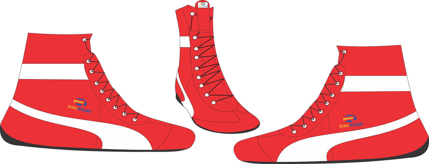 Wrestling clipart boxing shoe. Rw ringsportswears live boxingshoessample