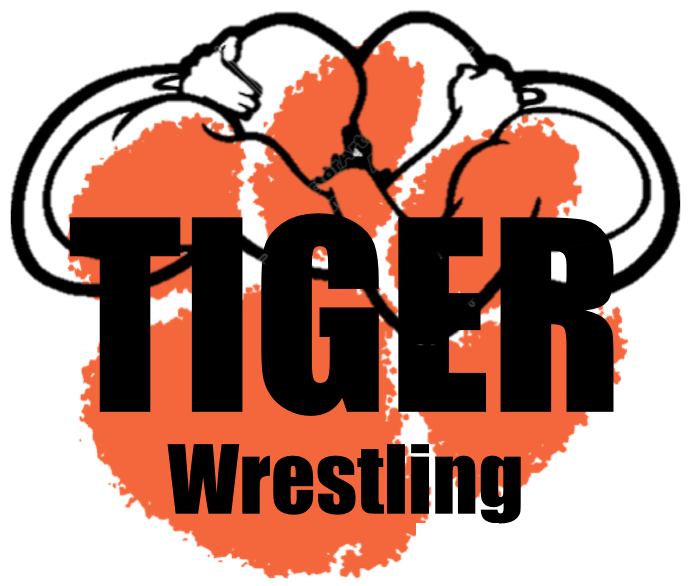 Wrestling clipart tiger. Shadyside team home tigers
