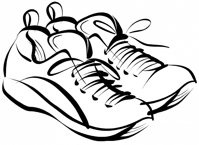 Wrestling clipart wrestling shoe. Shoes drawing at getdrawings