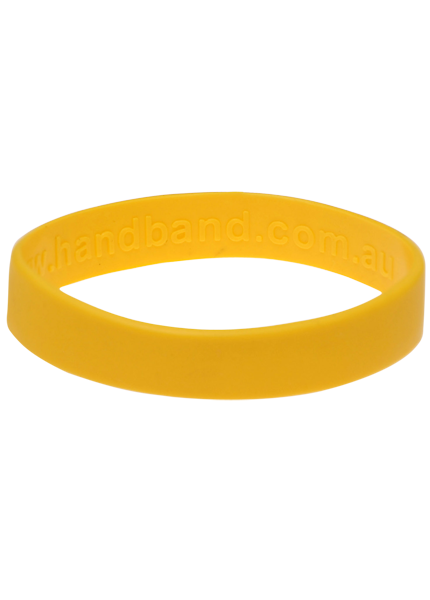 Wrist band png. Yellow wristbands blank products