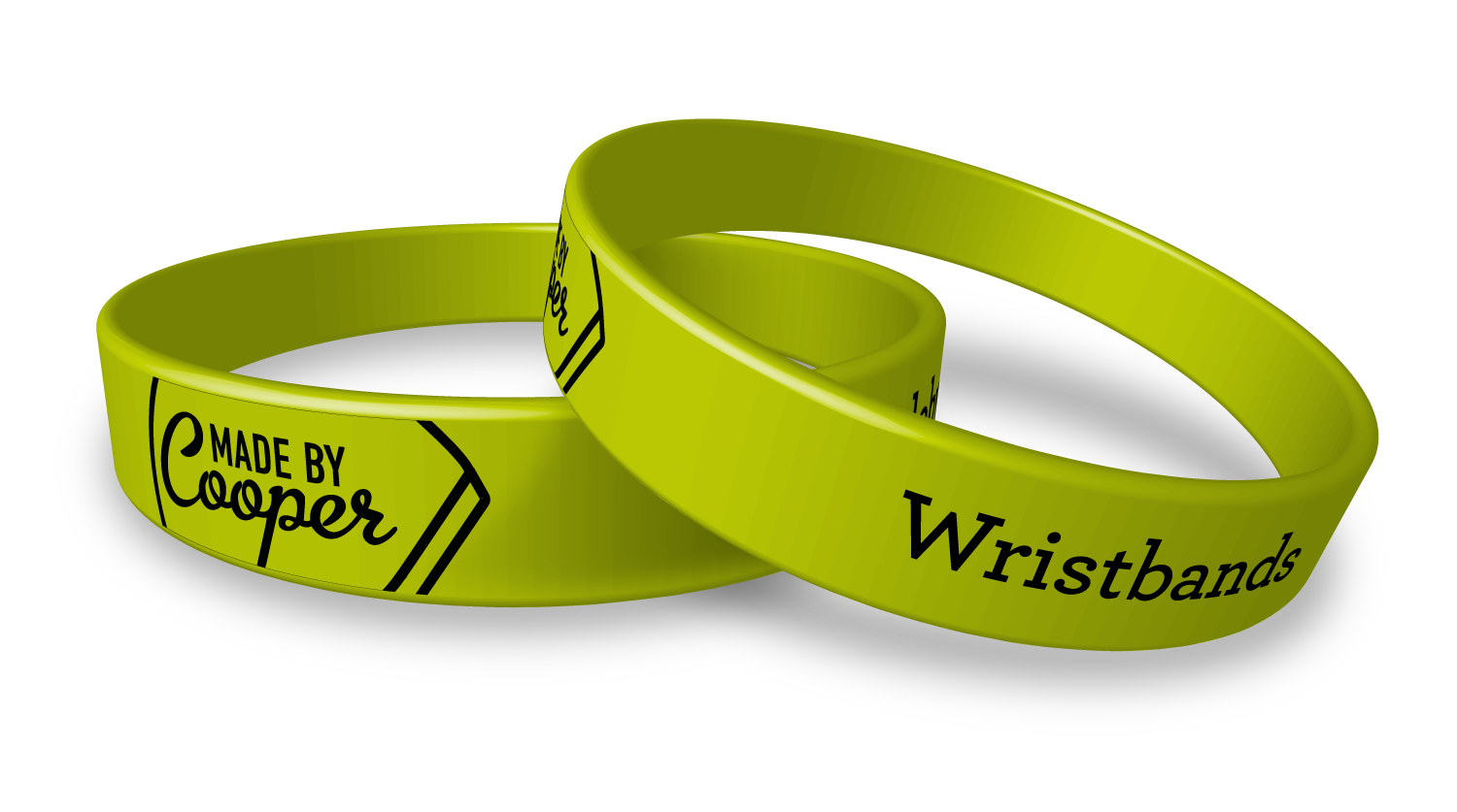 Wrist band png. Printed charity and sport