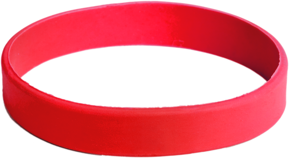 Wrist band png. Silicone wristbands medtech red