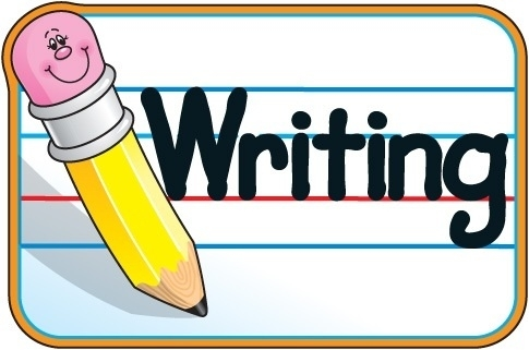 Write clipart handwriting. Neat letters templates corner