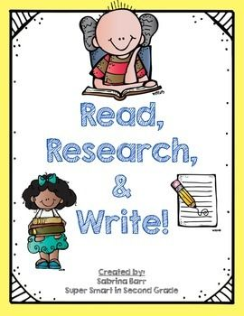 Write clipart informational writing. Read research text and