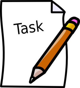 Write clipart task. Tasks the wickedly witty