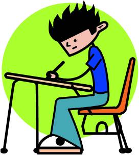 Write clipart task. Module g writing tasks