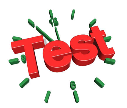 Write clipart testing. Restful day unit and