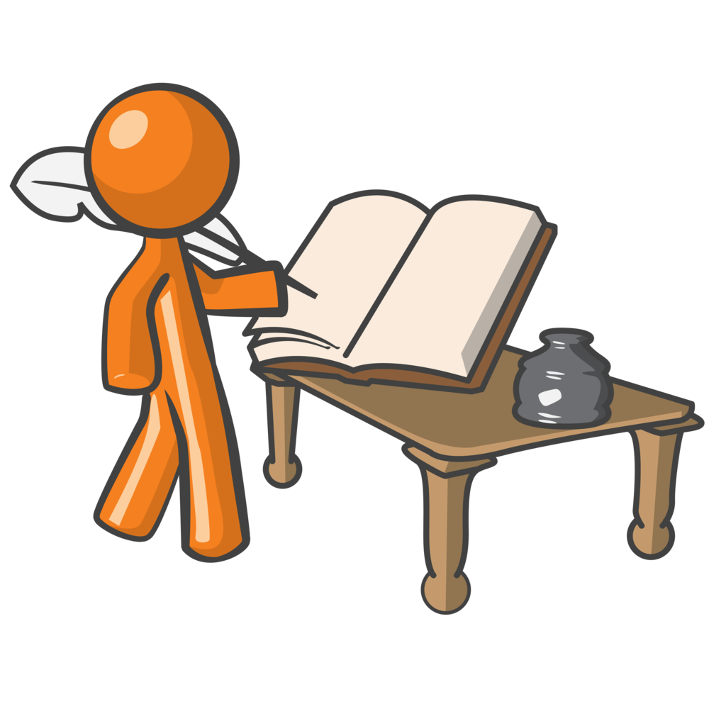 Writer clipart book writer. Report writing