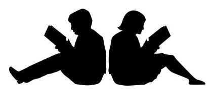 Writer clipart silhouette. Man writing at getdrawings