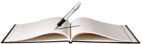 Quality ebook writer and. Writing book png svg free stock