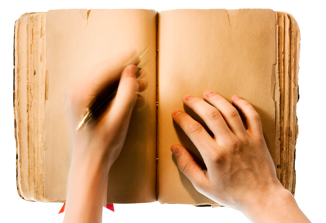 In a image pngpix. Writing book png svg library