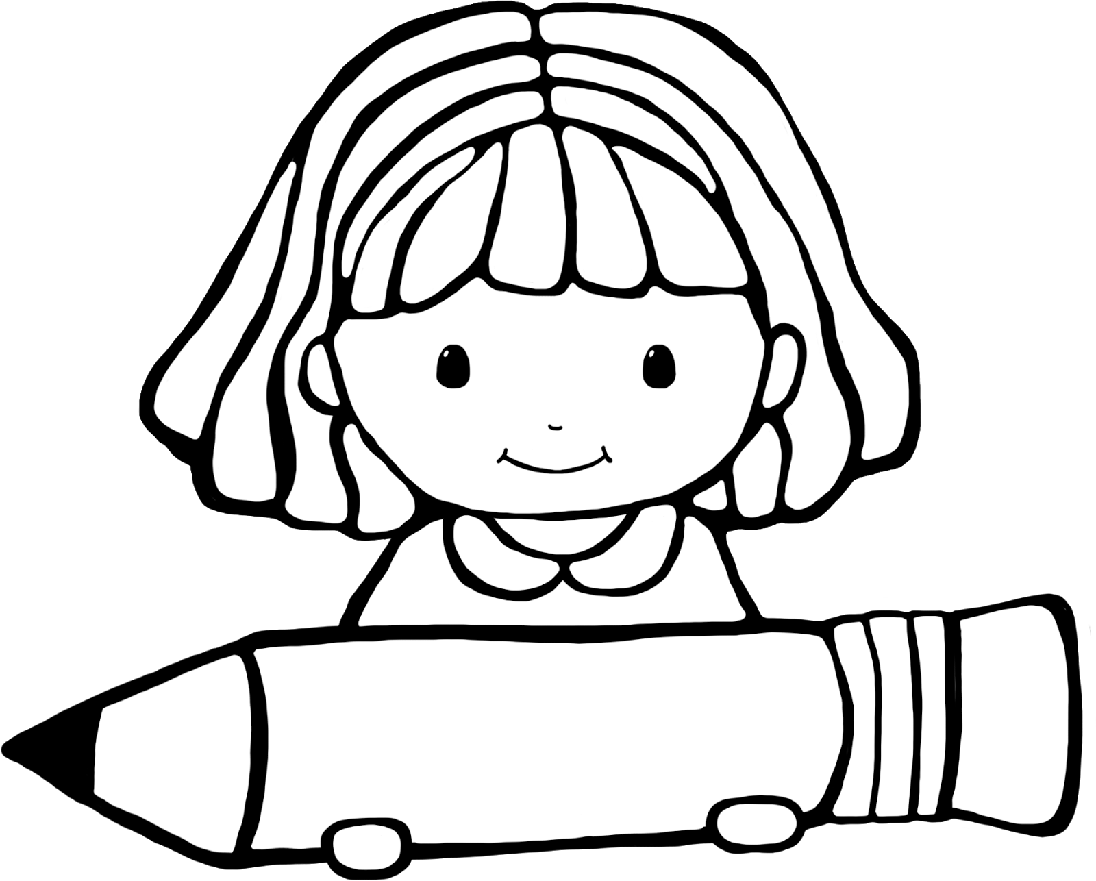 Writing clipart black and white. Image of