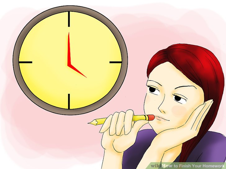 Writing clipart finish work. How to your homework