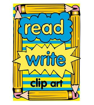 Writing clipart writeclip. Read and write clip