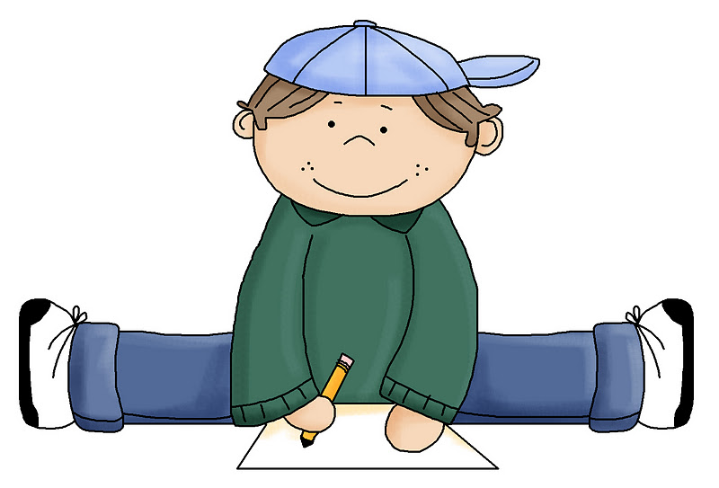 Writing clipart writing center. Image of