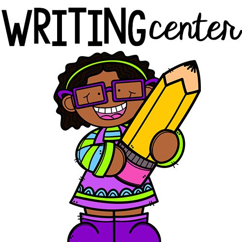 Writing clipart writing center. Best clip arty