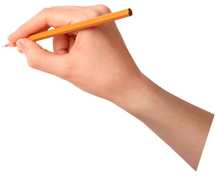 Writing hand png. Start brio discover our