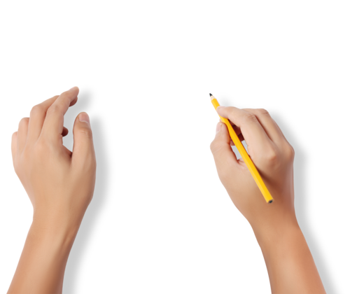 Writing hand png. Hands uploaded by shawn