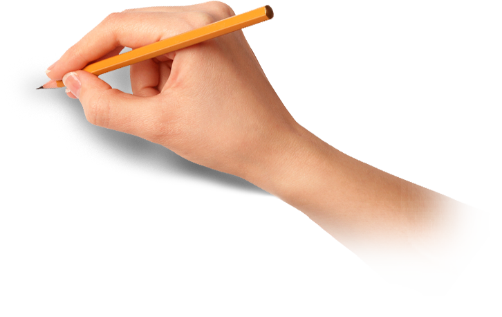 Writing hand with pen png. Asus memo pad me
