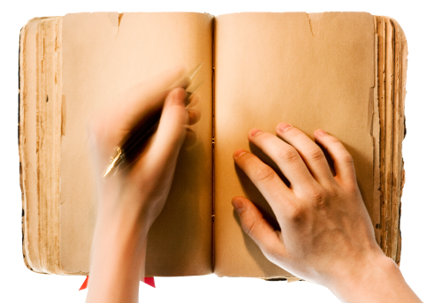 Writing png images. In a book image