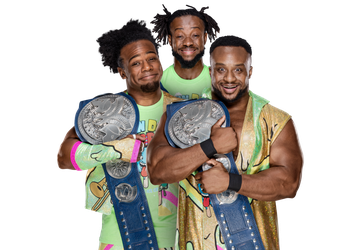 Wwe new day png. Sd tag team championship