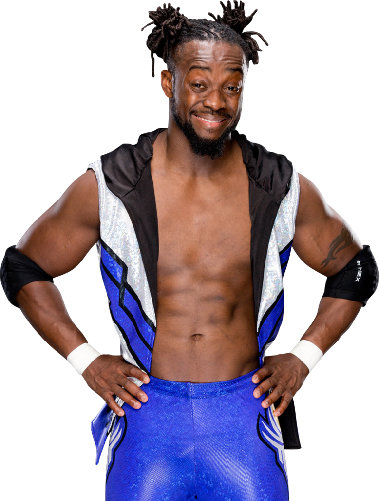 Wwe new day png. Free kofi kingston image