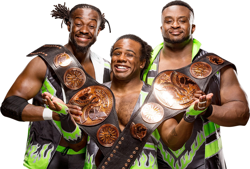 Wwe new day png. Renders by wwepnguploader on