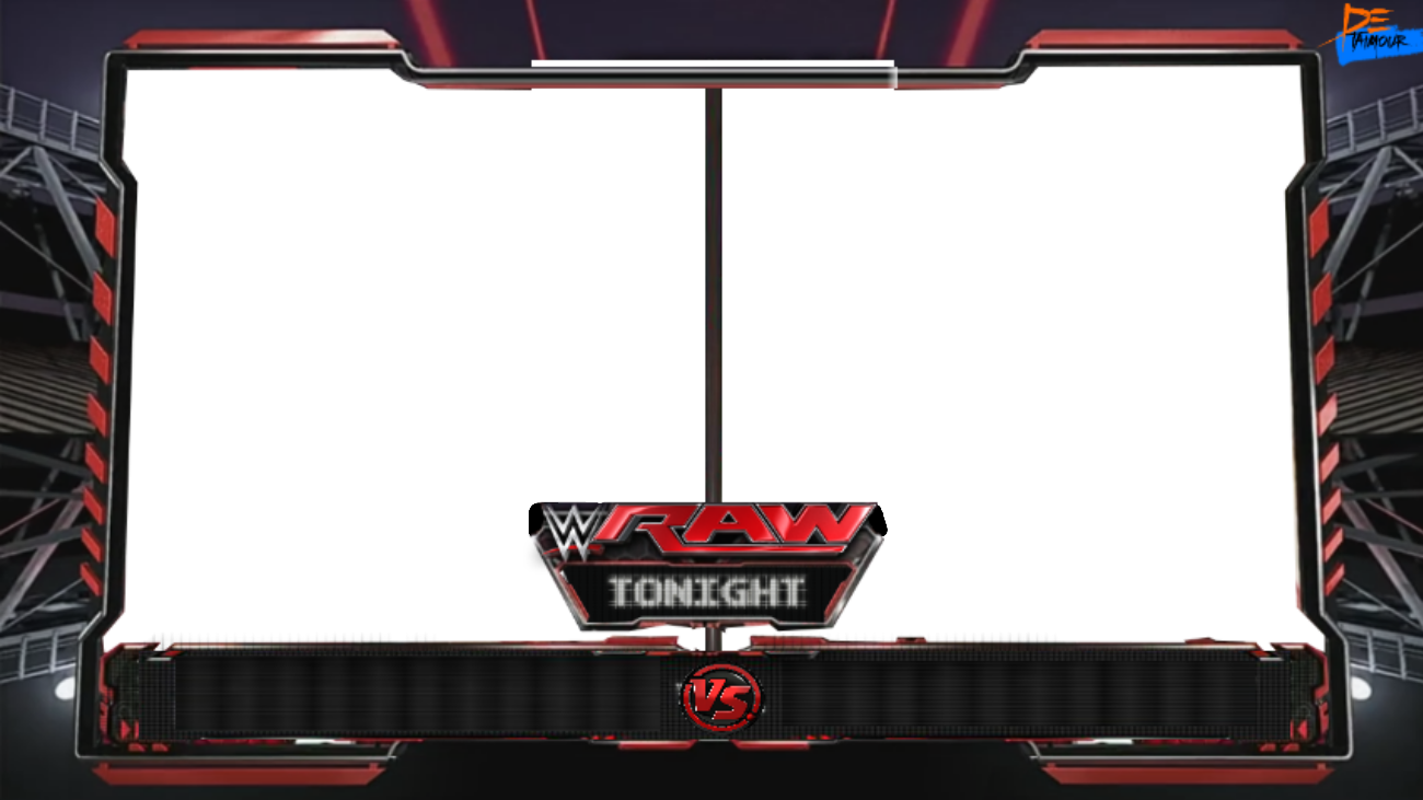 Wwe raw match card png. Renders backgrounds logos matchcard