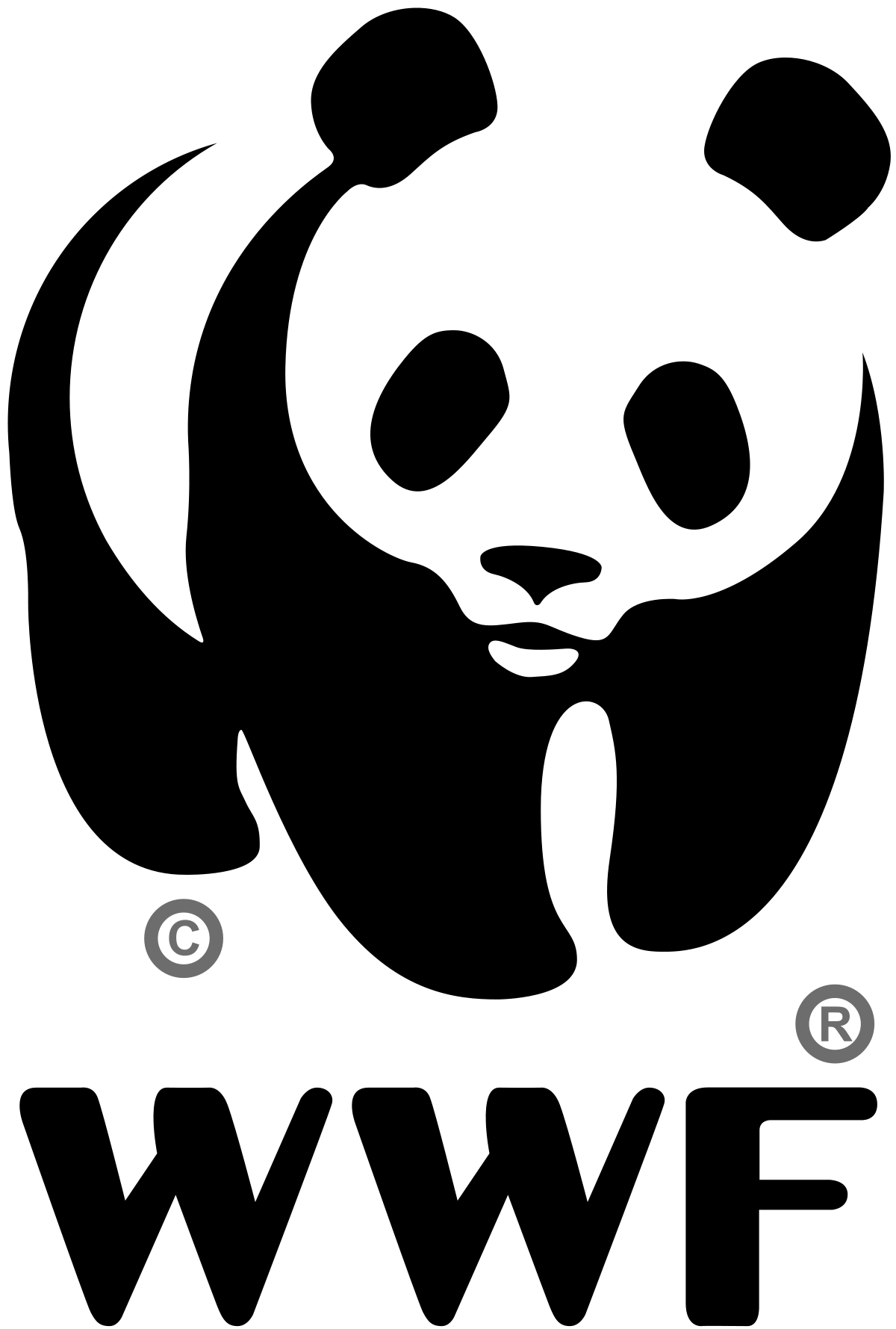 Wwf panda png. World wide fund for