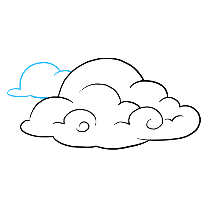 Jack drawing detailed. How to draw clouds