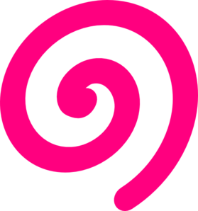 Www vector spiral. Pink clip art at