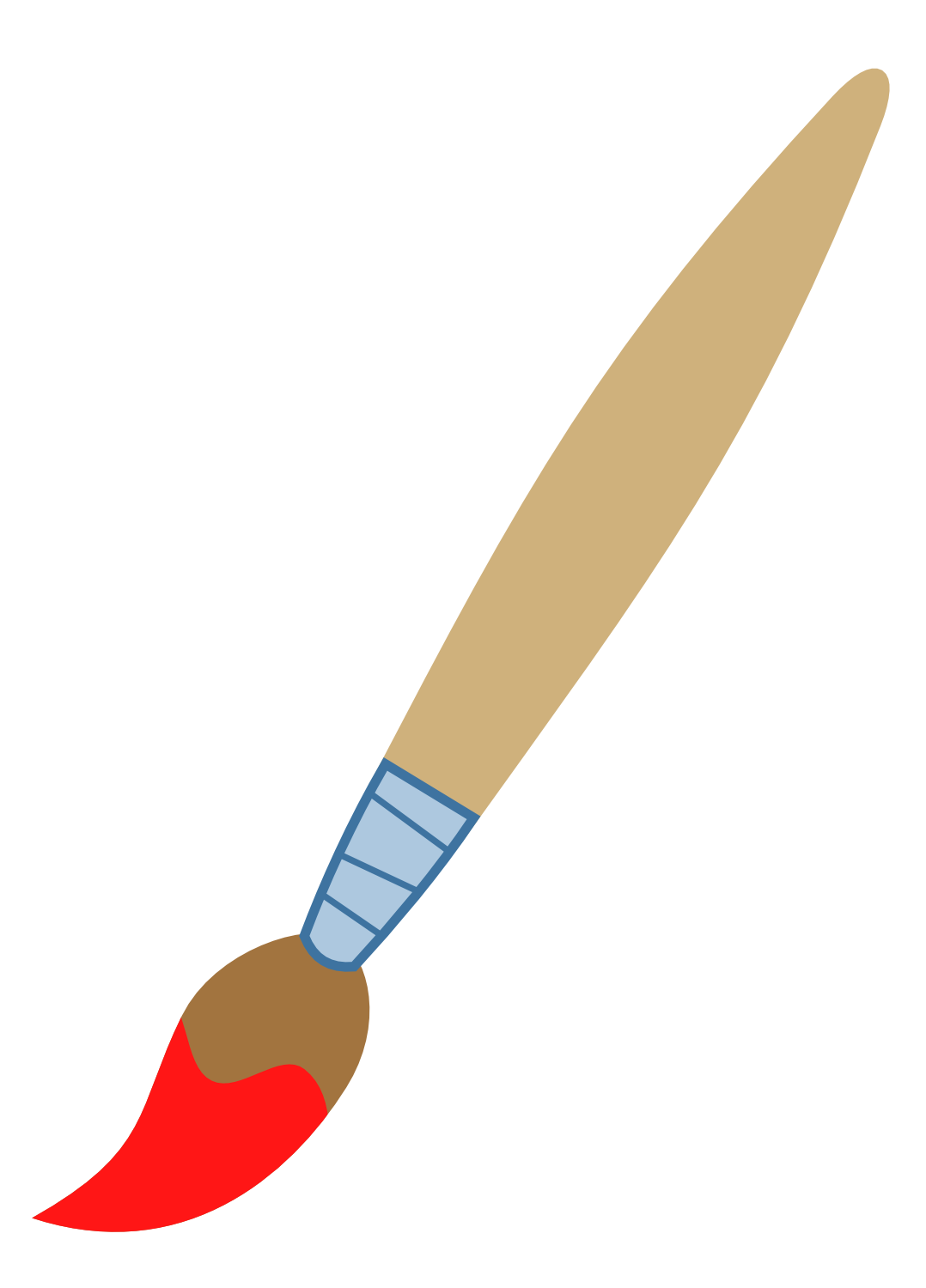 X clipart brush. Artist s paint request