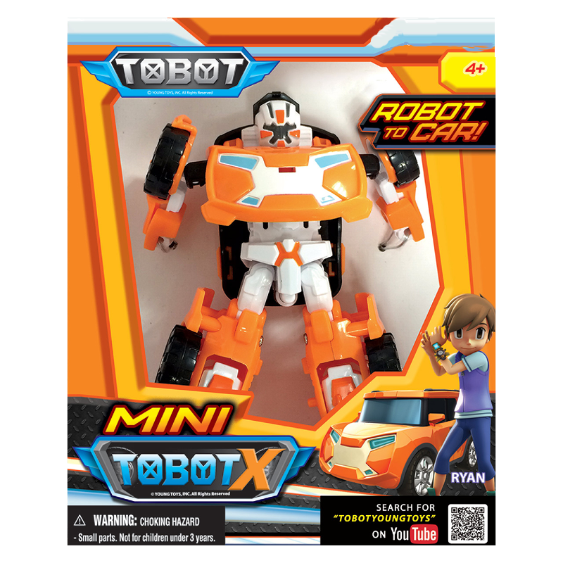 X drawing tobot. Robot car mini elkor