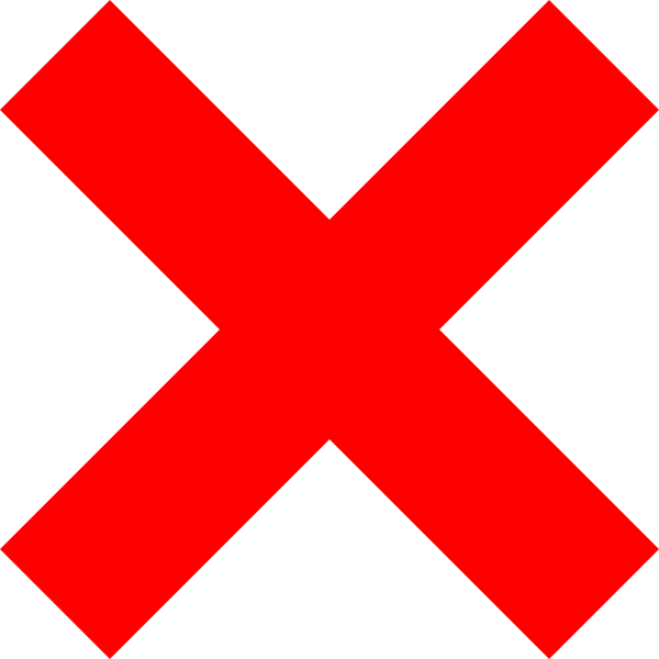 X sign png. Icon clip art at