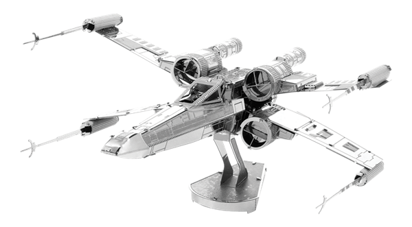 X wing fighter png. Metal earth diy d
