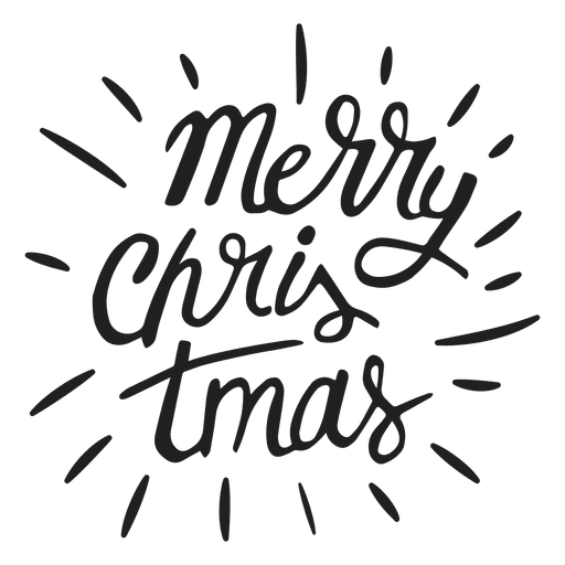 Xanax lettering png. Merry christmas badge transparent