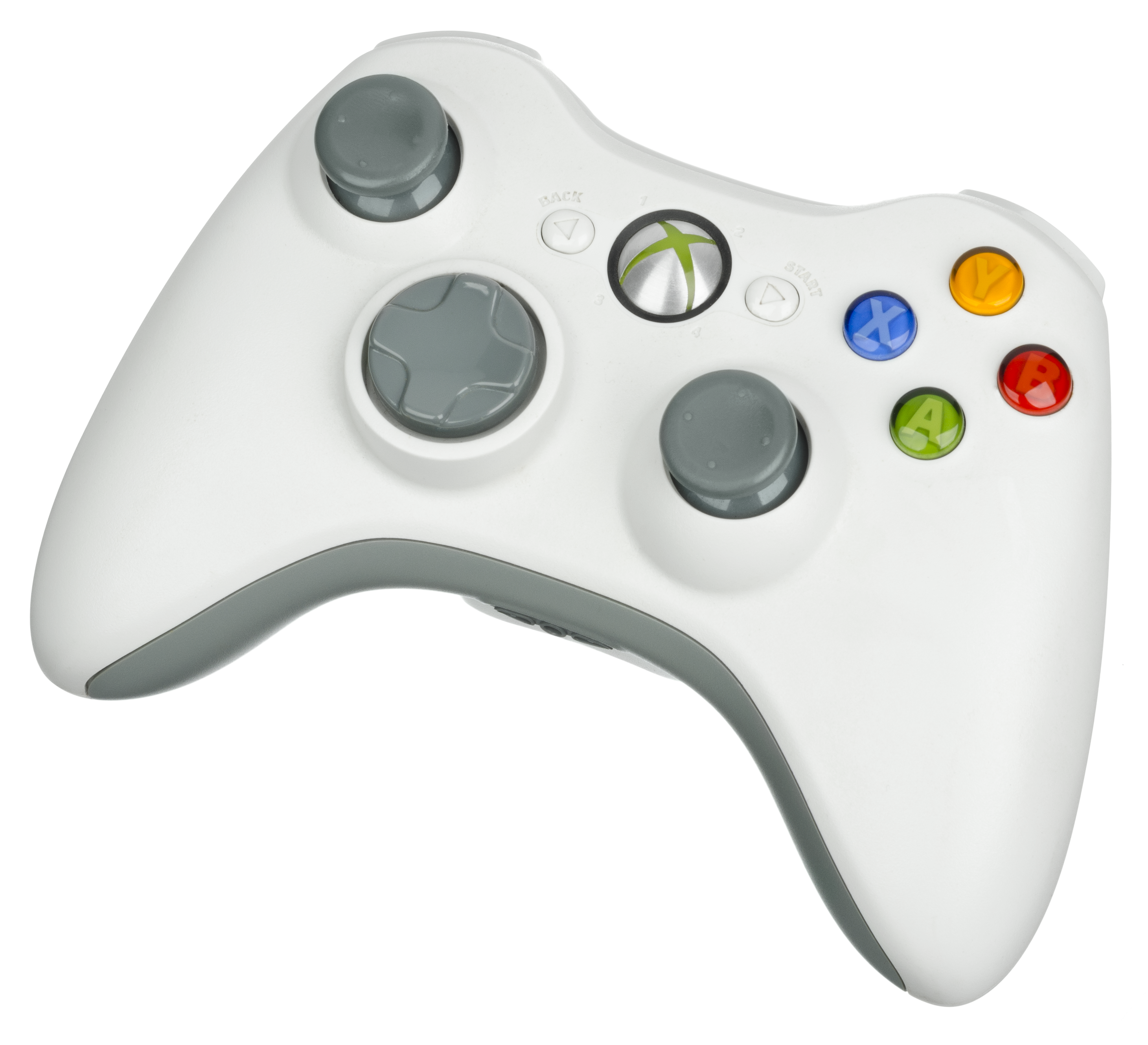 Xbox 360 controller png. File wireless white wikimedia
